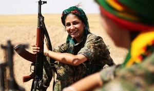 Κούρδισσες μαχήτριες, ο φόβος κι ο τρόμος των τζιχανιστών