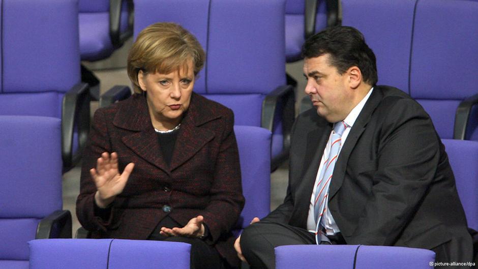 Δρομολογούν κυβέρνηση μεγάλου συνασπισμού στη Γερμανία
