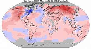 Διανύουμε το θερμότερο έτος των τελευταίων 130 ετών