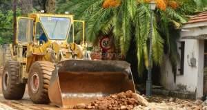 Μηχανήματα και στρατός στην Κεφαλλονιά για την αντιμετώπιση των καταστροφών [ΦΩΤΟ]