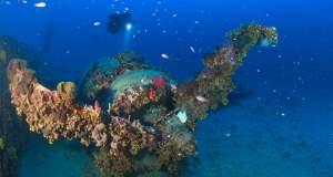 Ματιές ιστορίας κάτω από τα κύματα: Μία έκθεση φωτογραφίας υποθαλάσσιων ναυαγίων