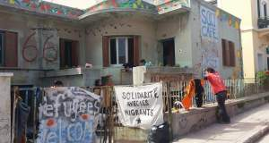 Έβαλαν φωτιά σε χώρο αλληλεγγύης στη Χίο