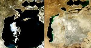 Καρέ – καρέ η εξαφάνιση της τρίτης μεγαλύτερης λίμνης του κόσμου μέσα σε 14 χρόνια