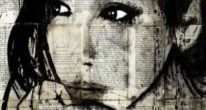 Απίστευτα πορτρέτα από μελάνι σε εφημερίδα