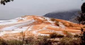 Το χιόνι έντυσε την έρημο Σαχάρα στα λευκά! [ΦΩΤΟΓΡΑΦΙΕΣ]