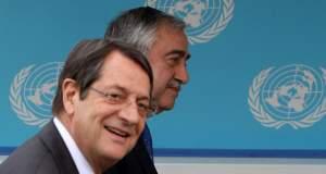 Κυπριακό: Νέα συνάντηση Αναστασιάδη - Ακιντζί την ερχομένη εβδομάδα