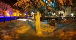 Η Αφροδίτη της… Φλώρινας από χιόνι [Φωτογραφίες]