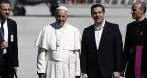 Πάπας προς Τσίπρα: Σας ευχαριστώ για ό,τι κάνετε για τους αδύναμους