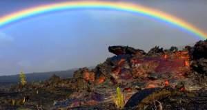 Χαβάη: Ένα ουράνιο τόξο πάνω από τη λάβα [ΒΙΝΤΕΟ]