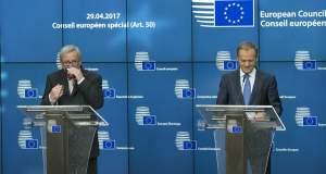 Τα συμπεράσματα των «27» από τη Σύνοδο Κορυφής για το Brexit