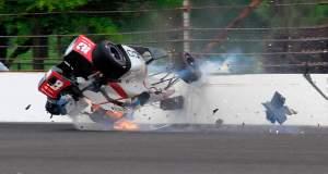 Τρομακτικό ατύχημα για τον Σεμπαστιάν Μπουρντέ στην Ινδιανάπολη [ΒΙΝΤΕΟ]
