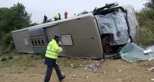 Ανατροπή λεωφορείου που μετέφερε μαθητές δημοτικού στις Σέρρες - Τραυματίστηκαν παιδιά και γονείς [ΦΩΤΟ+ΒΙΝΤΕΟ]