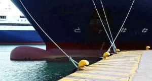 Στο λιμάνι της Σερίφου προσέκρουσε το «Διονύσιος Σολωμός»