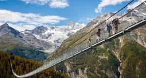 Η νέα και μεγαλύτερη κρεμαστή γέφυρα πεζοπορίας στον κόσμο [ΒΙΝΤΕΟ]
