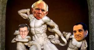 Το Twitter γλεντάει με το άγαλμα του Σόιμπλε