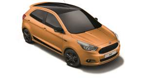Ένα πολύχρωμο μικρό: Ford KA+ Colour Edition