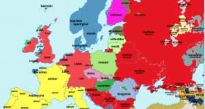 Πως θα πείτε σ΄ αγαπώ σε όλες τις γλώσσες της Ευρώπης; [ΧΑΡΤΗΣ]