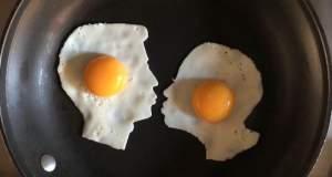 Καλλιτέχνης μετατρέπει τα τηγανίτα αυγά σε έργα τέχνης [ΦΩΤΟ]