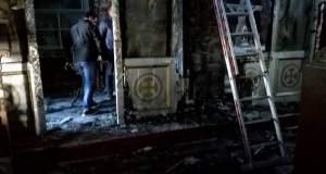 Τζουμέρκα: Μεγάλες ζημιές από πυρκαγιά στον ναό - μνημείο της Αγ. Παρασκευής Πραμάντων