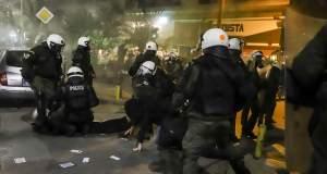 Πέντε συλλήψεις για τα επεισόδια στη Θεσσαλονίκη