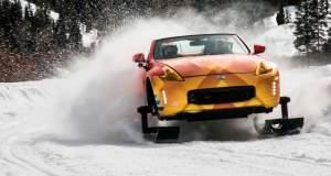 H Nissan, βασίλισσα του χιονιού!