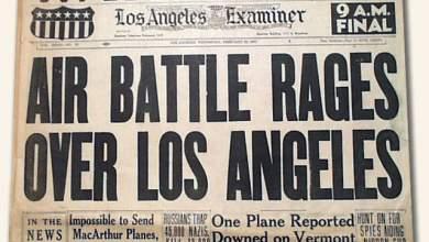 1942: Η μάχη του Λος Άντζελες
