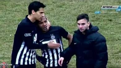 Η περιπέτεια του ποδοσφαιριστή της Παρτιζάν, Λουίζ Έβερτον [Βίντεο]