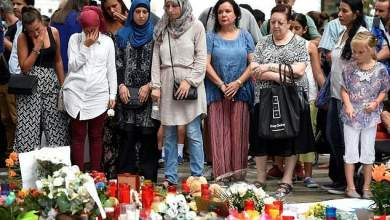 Μουσουλμάνοι διαδήλωσαν στη Βαρκελώνη κατά της τρομοκρατίας