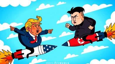 «Twitter Man» εναντίον «Rocket Man»