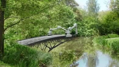 Γέφυρα φτιαγμένη με εκτυπωτή λειτούργησε στην Ολλανδία