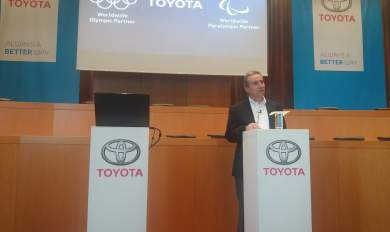 Οι Ολυμπιακοί κινούνται με Toyota…