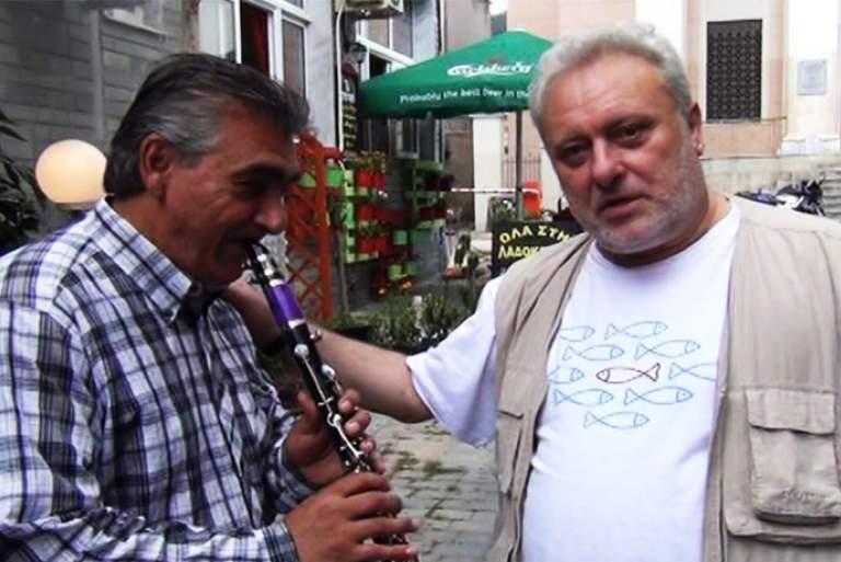 «Συνέντευξη» Ψαριανού με κλαρίνα [Βίντεο]