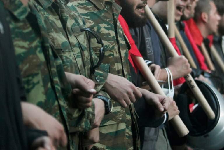 Φαντάρος τιμωρήθηκε για συμμετοχή σε Αντιρατσιστικό Συλλαλητήριο