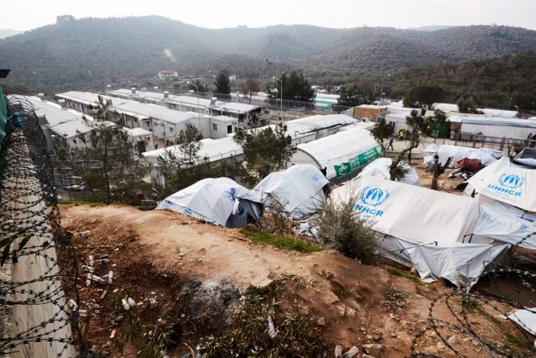 Αποζημίωση στους κατοίκους της Μόριας που επλήγησαν από πράξεις προσφύγων