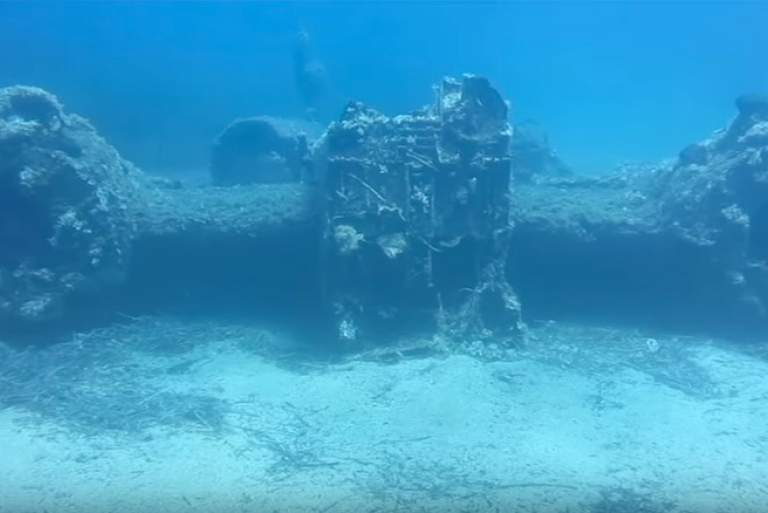 Βίντεο από το βομβαρδιστικό των ναζί που βρέθηκε στο βυθό της Ικαρίας