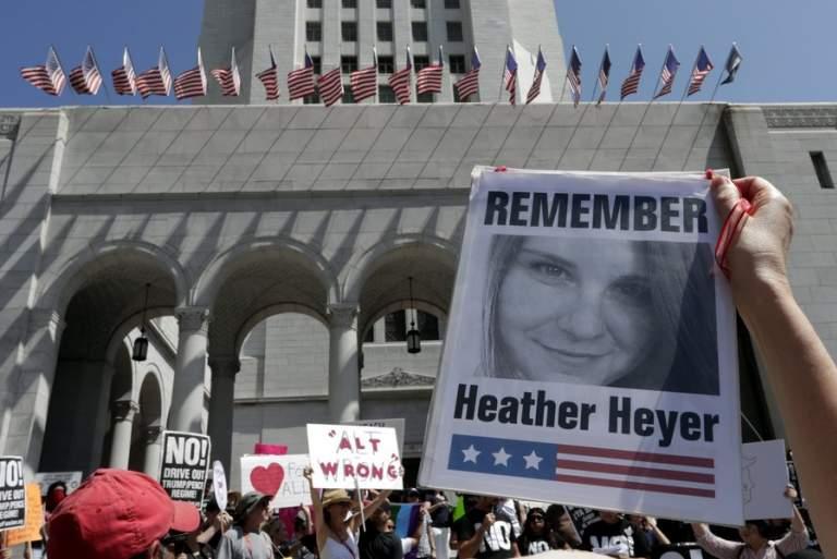 Στη Βιρτζίνια η Χέδερ δολοφονήθηκε επειδή δεν εξοργιστήκαμε