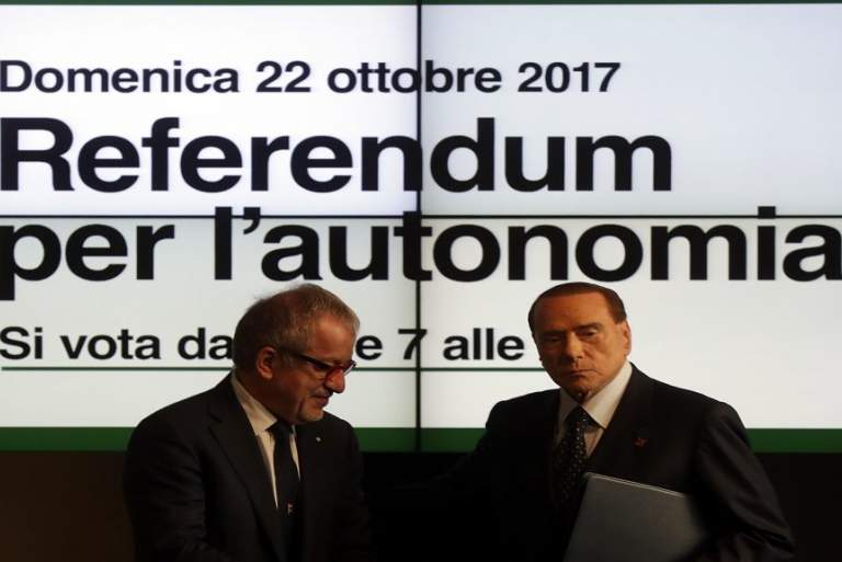 Ιταλία: Δημοψήφισμα σε Μιλάνο και Βενετία για περισσότερη αυτονομία
