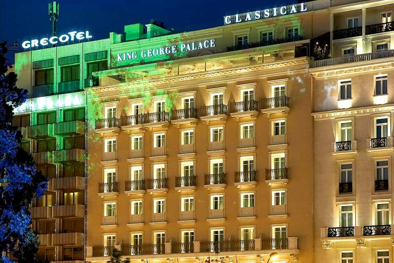 Εξαγορά του ξενοδοχείου King George από την Λάμψα ΑΕ