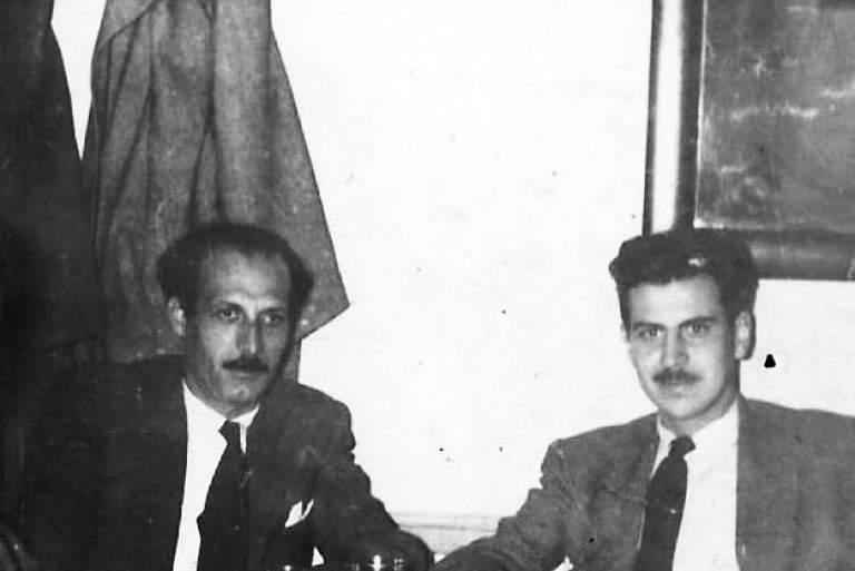 Ντοκουμέντο: Η γνωριμία Μίκη Θεοδωράκη - Μιχάλη Κατσαρού στα οδοφράγματα του Δεκέμβρη