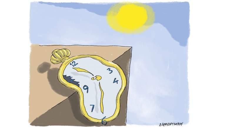Κλιματική αλλαγή...